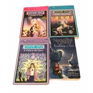 Madeleine L'Engle Four Books Wrinkle in Time